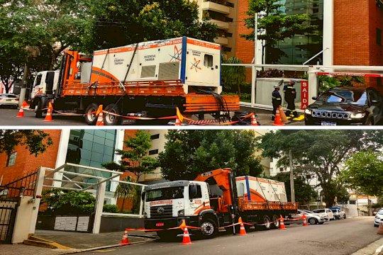 Geradores de Energia garantem fornecimento a bairro de São Paulo