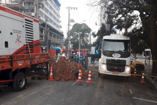 Operação de emergência em São Paulo